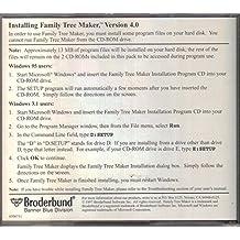 Family Tree Maker Version 4.0, Installation Program and Family Finder Index