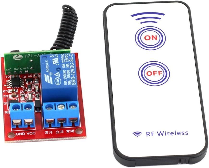 RF Wireless Relay Module 12V Eine channal RF Drahtlos Relais Modul mit Fernbedienung