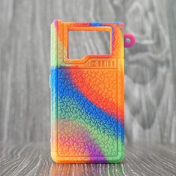 CEOKS for Lost Vape Orion DNA 40W Silicone Case, Anti-Slip Protective  Silicone Case Skin Rubber Cover for Lost Vape Orion DNA GO POD Kit TC Mod  Box