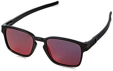 e8eab31e59b2e Amazon.com  Oakley Latch Squared Polarized Rectangular Sunglasses ...