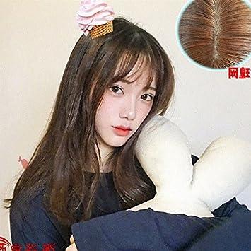 Amazon Com Korean Air Bangs Wig Women Girls Female Short