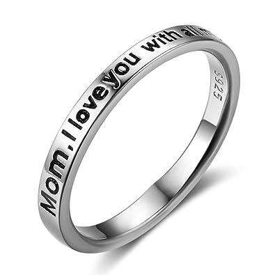 6c4d7d7ef93bf Buy 925 Sterling Silver Rings Love Rings