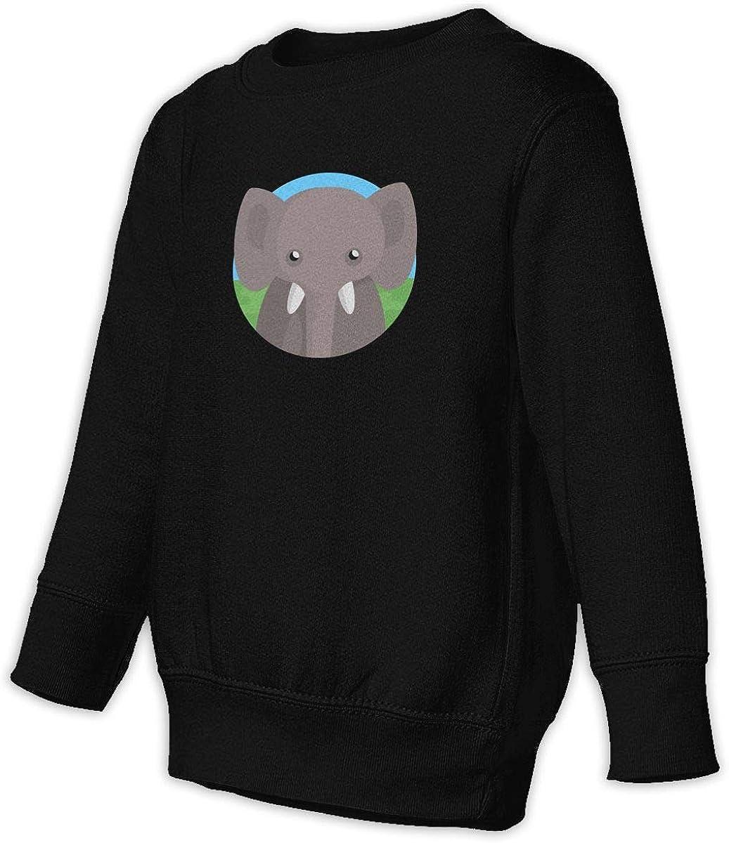 048-elephant Unisex Toddler Hoodies Fleece Pull Over Sweatshirt for Boys Girls Kids Youth