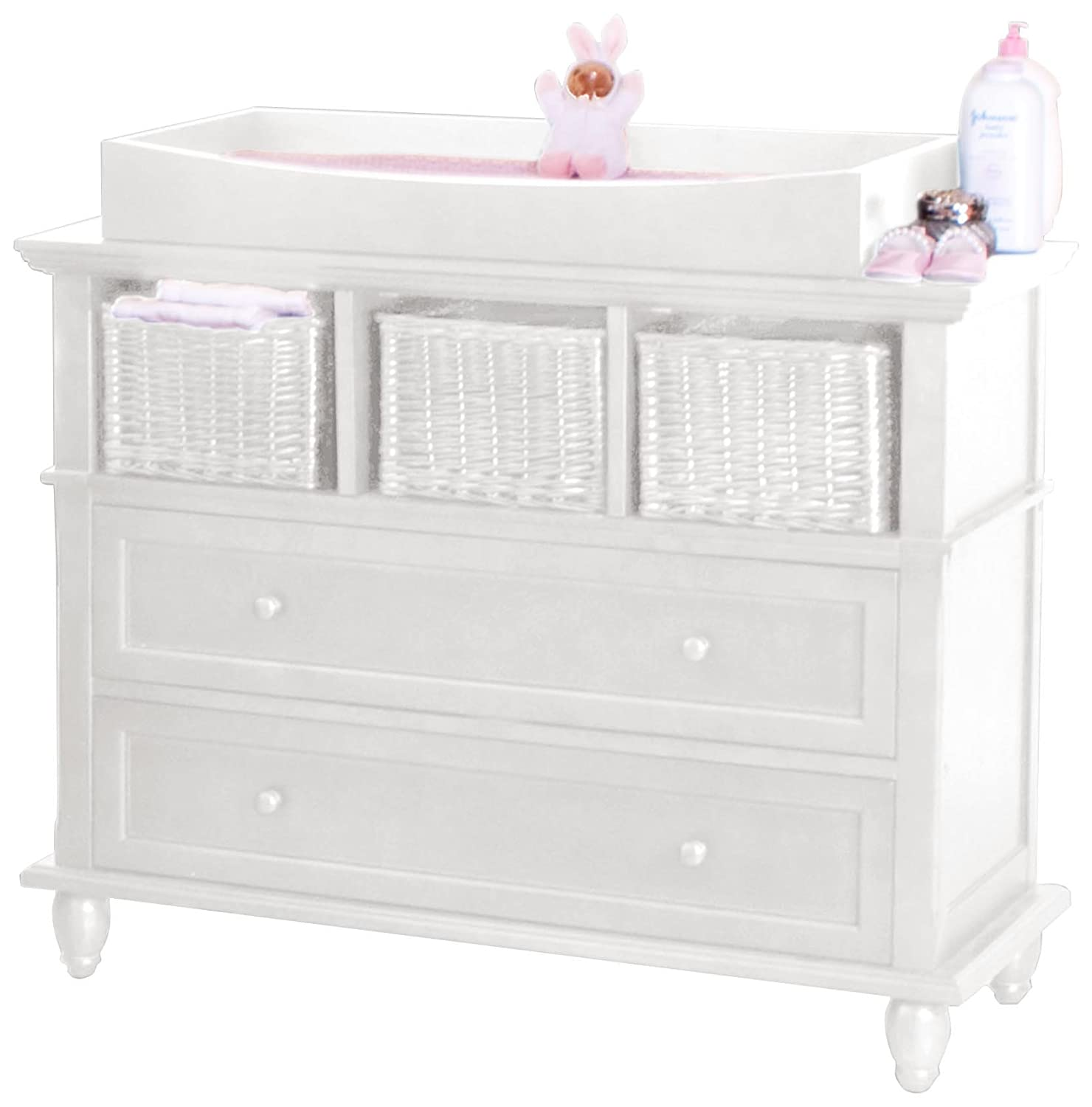 Stupendous Buy Bsf Baby Addison Changing Table White Online At Low Download Free Architecture Designs Jebrpmadebymaigaardcom
