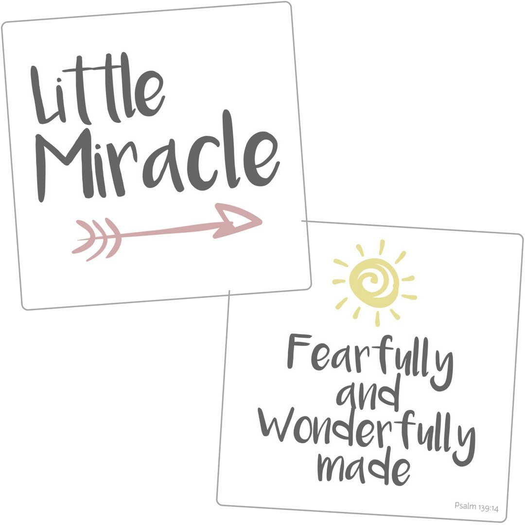 NICU Crib Art from Every Tiny Thing - Decorate Your Baby's NICU Space with Adorable Prints - Miracle Girls