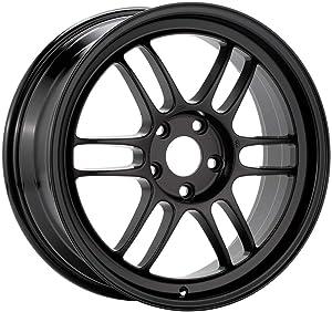 17x7 Enkei RPF1 (Black) Wheels/Rims 5x114.3 (3797706545BK)