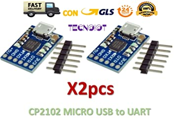 5V Leistung 6PIN Serieller Konverter USB 2.0 Zu TTL UART CP2102 Modul 3.3V