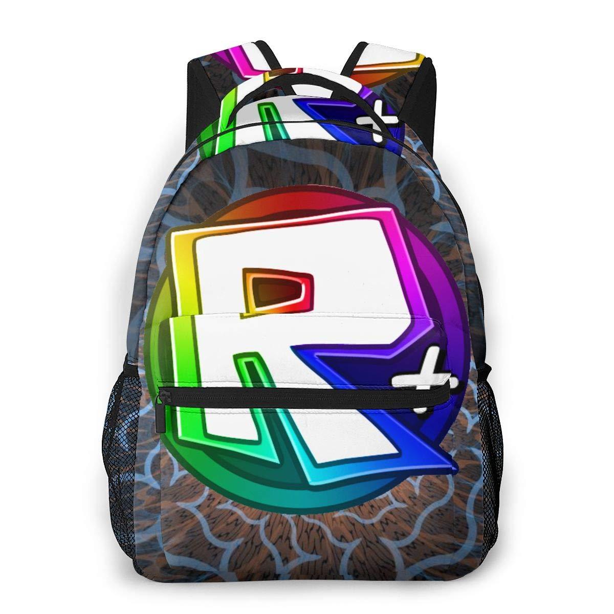Roblox Casual Backpack School Bag Waterproof Casual Daypacks Unisex