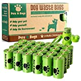 Dog Poop Bags Pets N Bags Earth Friendly Dog Waste Bags Refill Rolls (24 Rolls  360 Count Unscented) Includes Dispenser by Pets N Bags