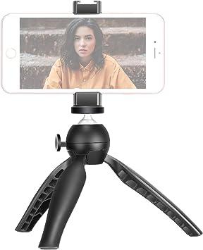 Neewer Mini Trípode Mesa Teléfono Trípode Soporte con Clip para ...