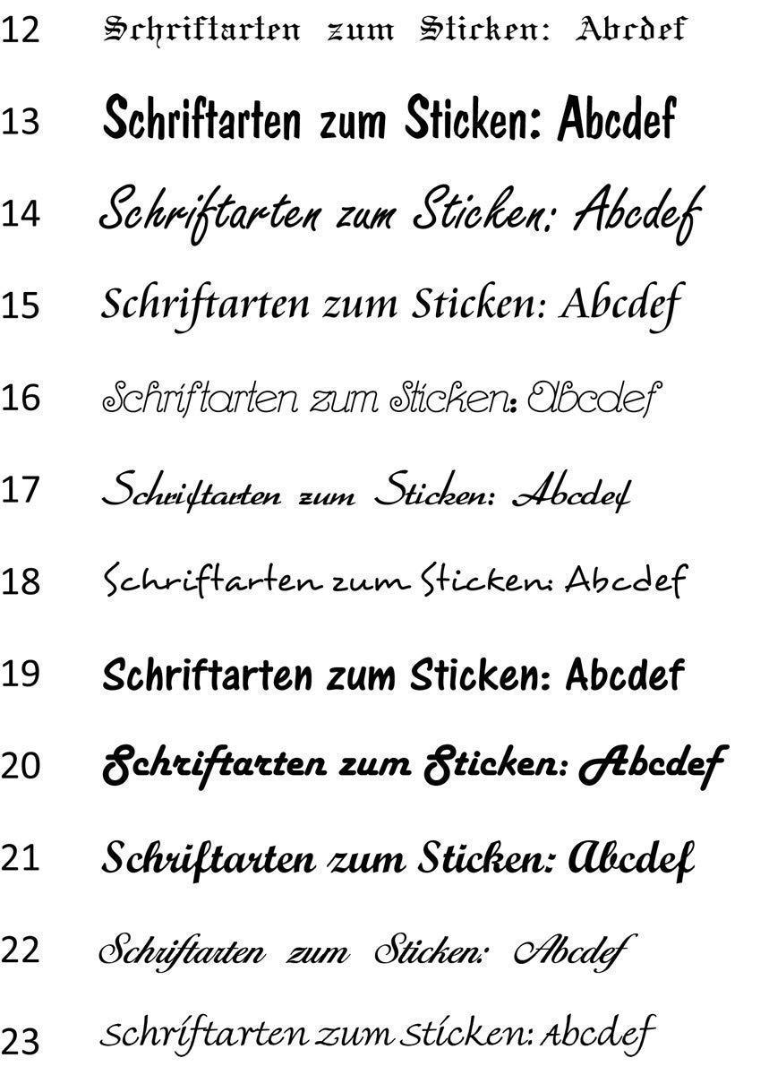 Besticktes G/ästehandtuch Kinderhandtuch Name M/äuschen