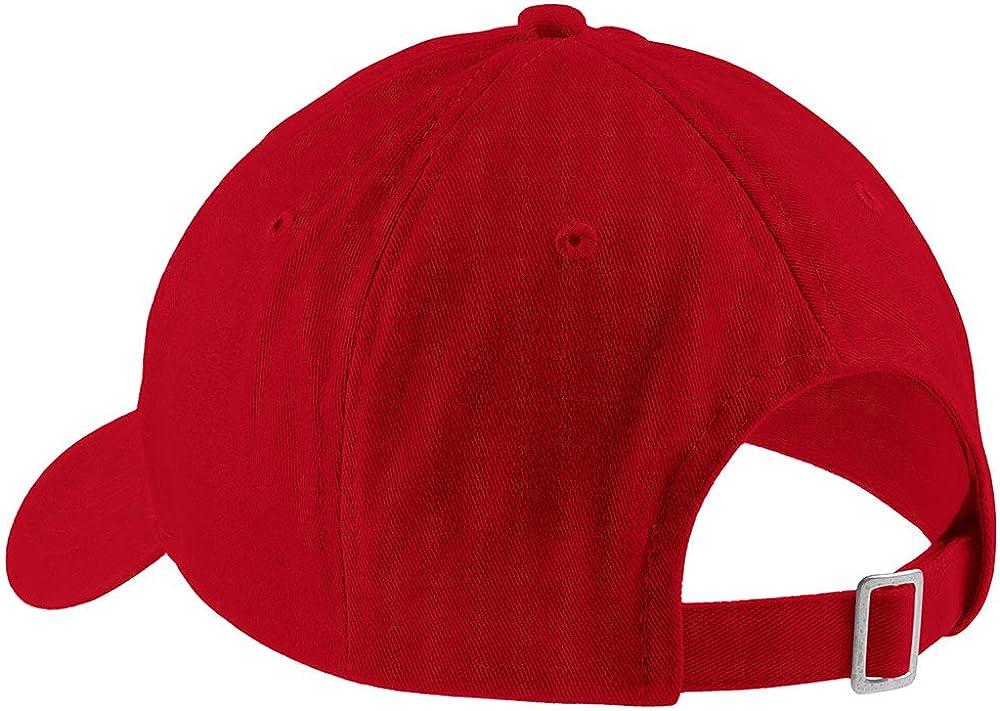 Trendy Apparel Shop Freak Embroidered Soft Low Profile Adjustable Cotton Cap