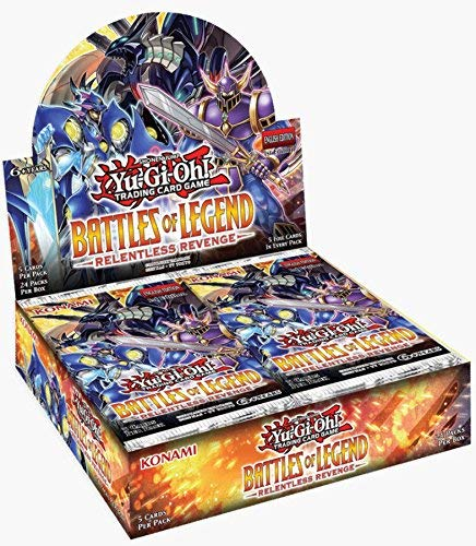 - Konami Yu-Gi-Oh! TCG: Battles of Legend - Relentless Revenge Booster Display (24)