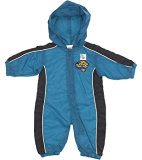 c860482033 Mighty Mac Jacksonville Jaguars NFL Baby Boys Hooded Windbreaker Coverall
