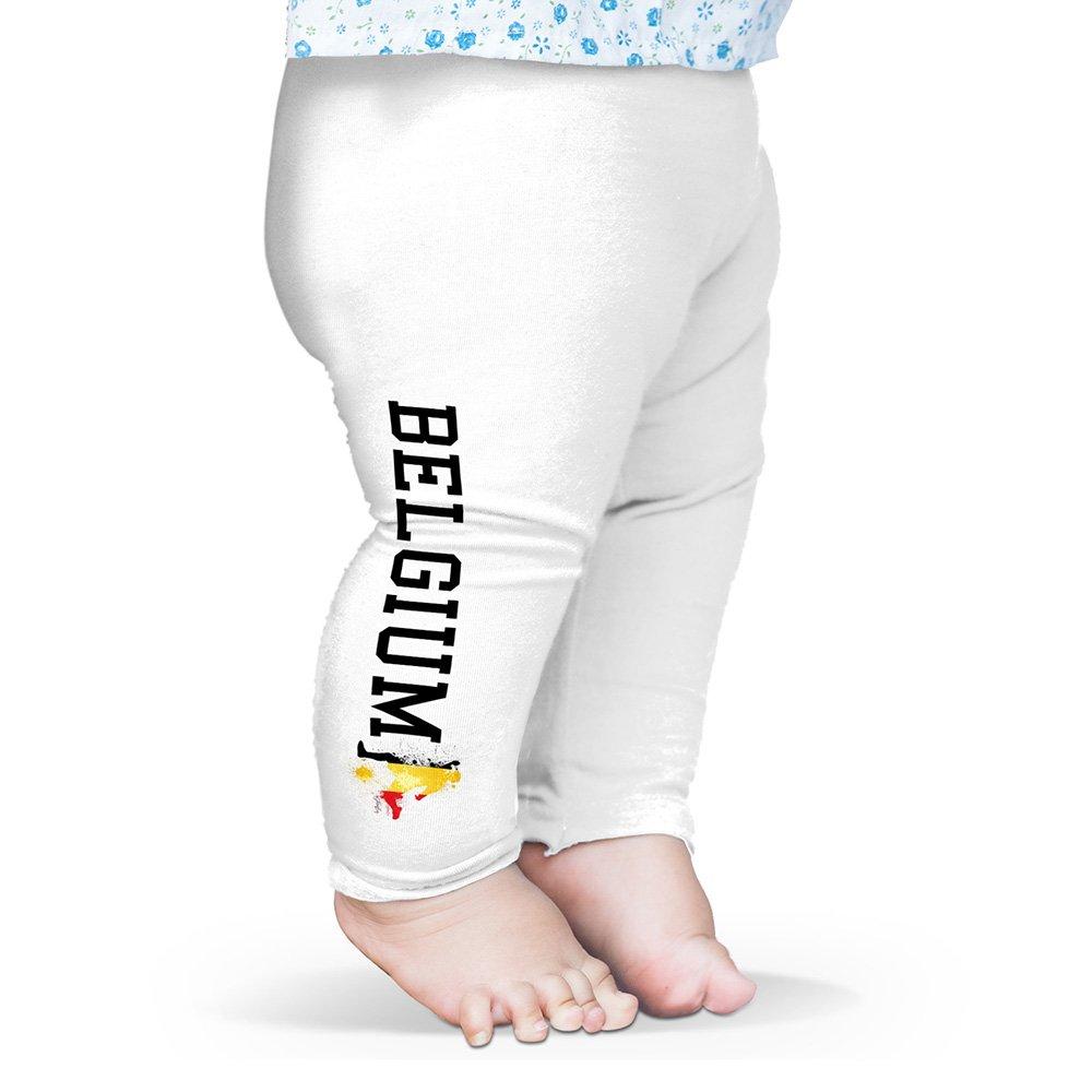 TWISTED ENVY Baby Leggings Football Soccer Silhouette Belgium