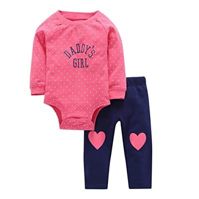 U99oi-9 Long Sleeve Cotton Bodysuit for Baby Boys and Girls Cute Cute White Hippo Sleepwear