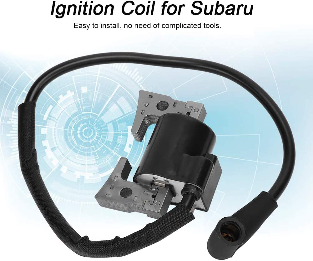 AMONIDA Universal Silicon Steel Ignition Coil Accessory Stable Performance Parts for Subaru EY28 Robin Ey 28 for Subaru Ey28