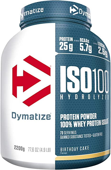 Outstanding Dymatize Nutrition Iso 100 Whey Protein Birthday Cake 2200 G Funny Birthday Cards Online Alyptdamsfinfo