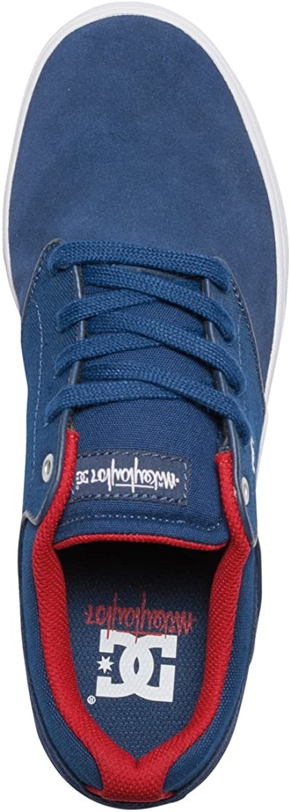 DC Shoes Mens Shoes Mikey Taylor Shoes Adys100303 Navy/Red