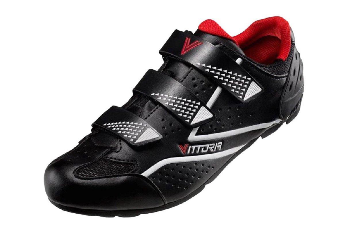 Vittoria Force SPD Spin Cycling Shoes B071HL33NG 43.5 M EU / 9.5 D(M) US Black