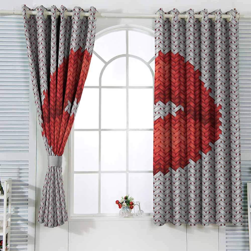 Amazon.com: Bedroom Curtains Teen Girls,Lips Illustration ...