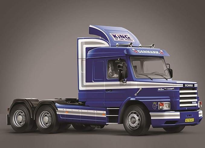 Amazon.com: Italeri 3937 1:24 Scania T143H 6X2: Toys & Games