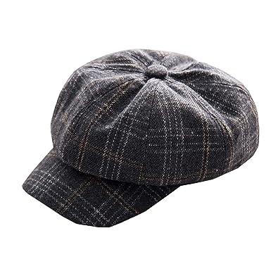 Junebao Elegante Cálido Sombreros Octogonales Transpirable ...