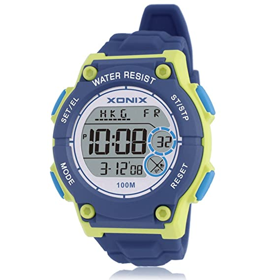 Reloj Digital para niños con Movimiento de natación LED Luminoso, Resistente al Agua, para Exteriores: Amazon.es: Relojes