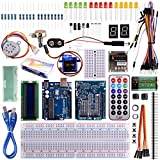 Kuman Arduino Starter Kits with Arduino UNO R3 LCD Servo Motor Sensor AVR Starter Beginners (32 components) K11