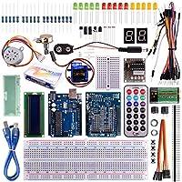 Kuman for Arduino UNO R3 Project Super Starter Kit with Tutorials for Nano Micro Mega Wifi gsm with Screen Servo Motor Sensors K11