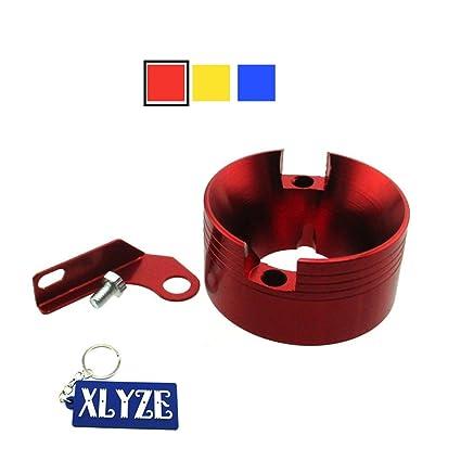 XLYZE adaptador de filtro de aire de aluminio billet CNC con ...