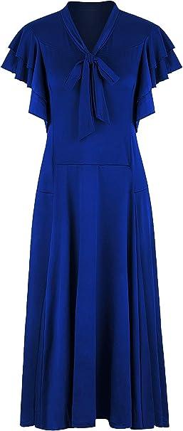 Amazon.com: VIJIV Vestido de mujer vintage de los años 20 ...