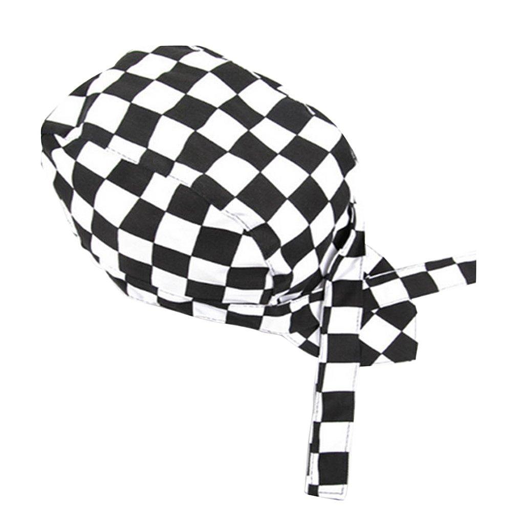 Magideal Unisex Cappello Da Chef Berretto Cuoco Ristorazione Professionale Disegno Pirata Per Calotta Berretto Cameriere - Caldo 12x 8x 6 centimetri