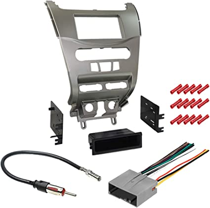 Amazon Com Cache Kit370 Bundle With Car Stereo Installation Kit For Ford 2008 2011 Focus In Dash Mounting Kit Harness And Antenna For Single Double Din Radio Receiver 4 Item Car Electronics
