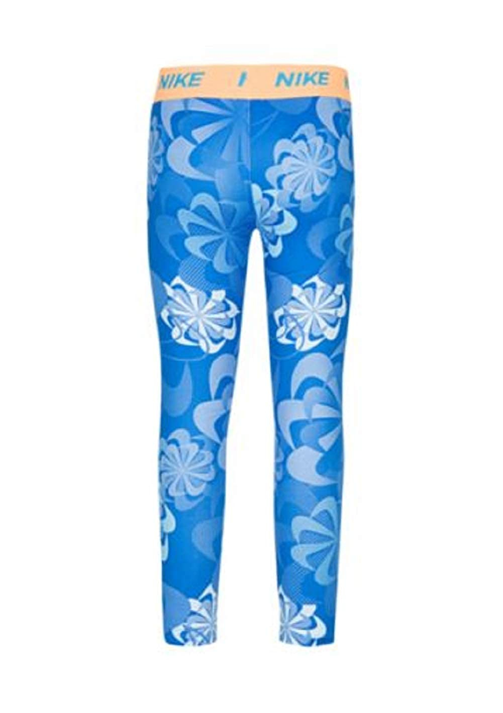 Nike Toddler Girls Dri-FIT Printed Leggings Blue Sky