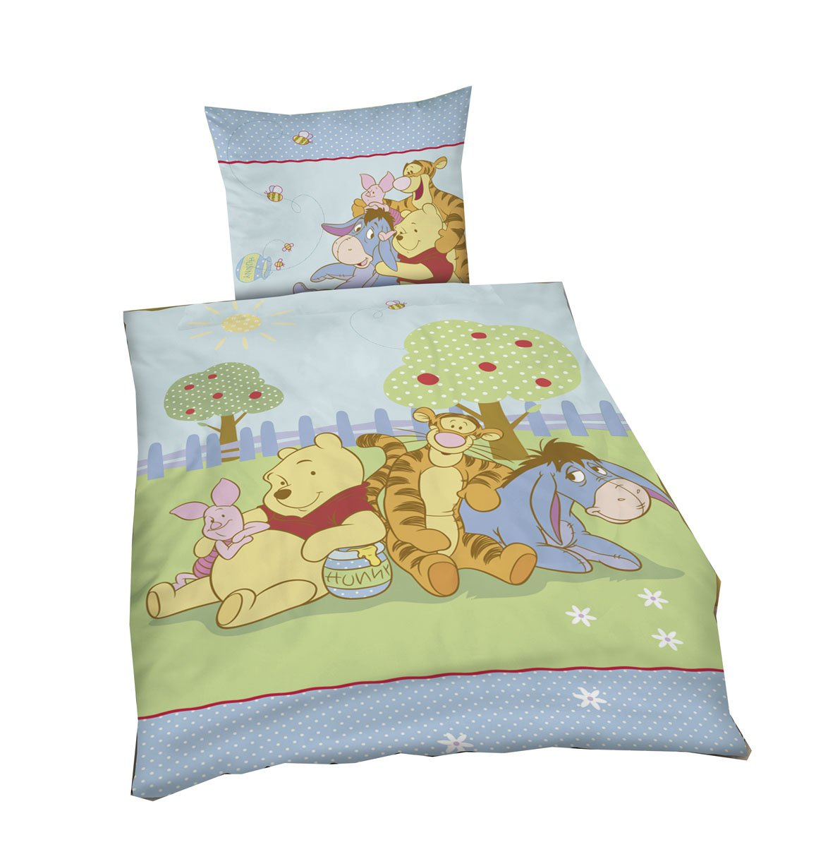winnie pooh flanell bettw sche my blog. Black Bedroom Furniture Sets. Home Design Ideas
