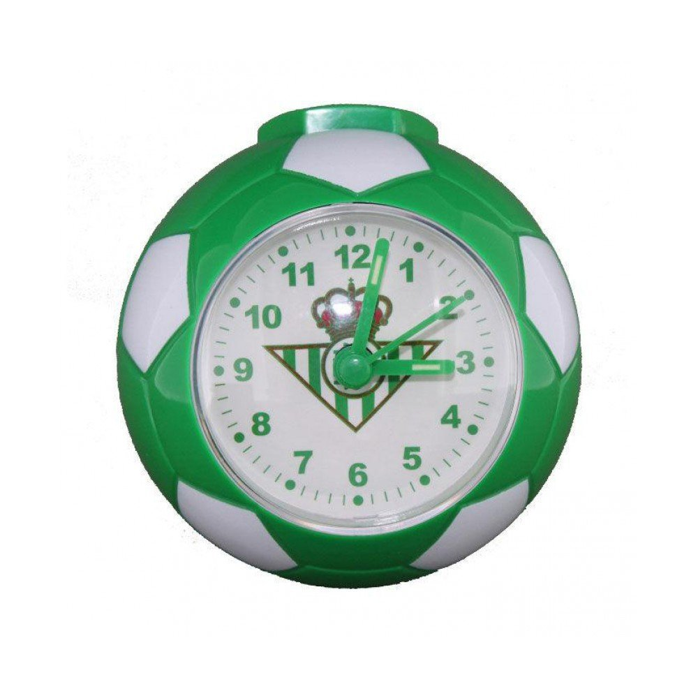 Despertador balon Real Betis: Amazon.es: Juguetes y juegos