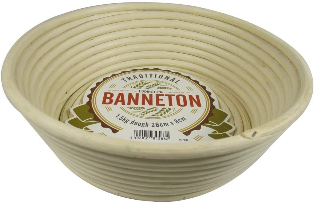 26 x 8cm Eddingtons Angled Round Banneton