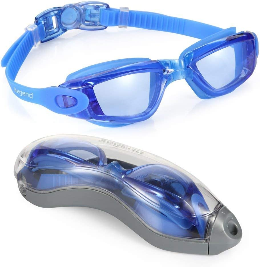 Aegend Adult Unisex Swim Goggles