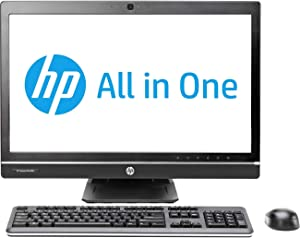 HP Compaq Elite 8300 All-in-One PC AIO Desktop Computer, 23 Inch Full-HD WLED Non-Touch Display, Core i5-3470 3.20GHz, 8GB RAM, 500GB HDD, DVD, WiFi, Bluetooth (Renewed)