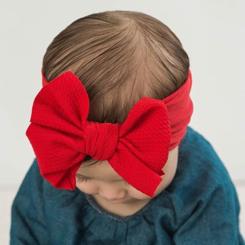 Big Bow Headbands Large Bow Headbands Oversized Bow Headbands Stretchy Headbands Baby Girl Headbands Headbands *Wine*