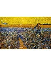 PRWJH Legpuzzels Houten 1000 stukjes voor volwassenen, Van Gogh Art Abstract puzzelspeelgoed, voor volwassenen Tieners Kinderen Woondecoratie