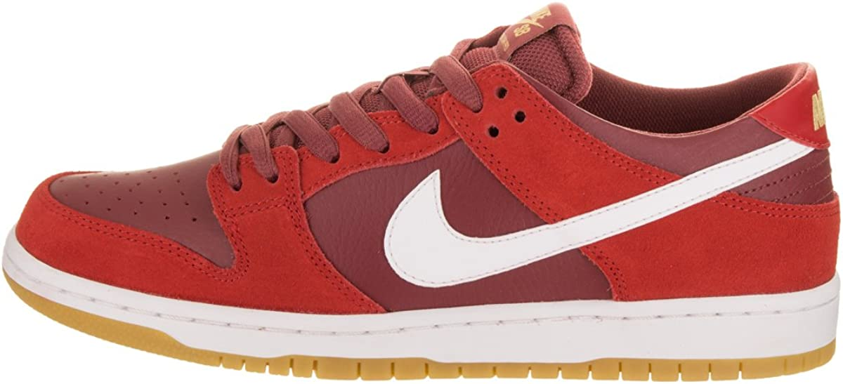 Nike SB Zoom Dunk Low Pro Mens Trainers 854866 Sneakers Shoes UK 6.5 US 7.5 EU 40.5, Track red White Cedar 616