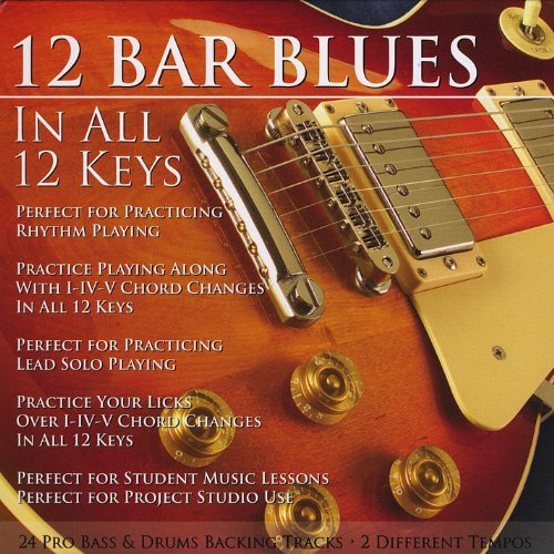 12 Bar Blues in All 12 Keys Bass & Drums Backing Tracks by ...