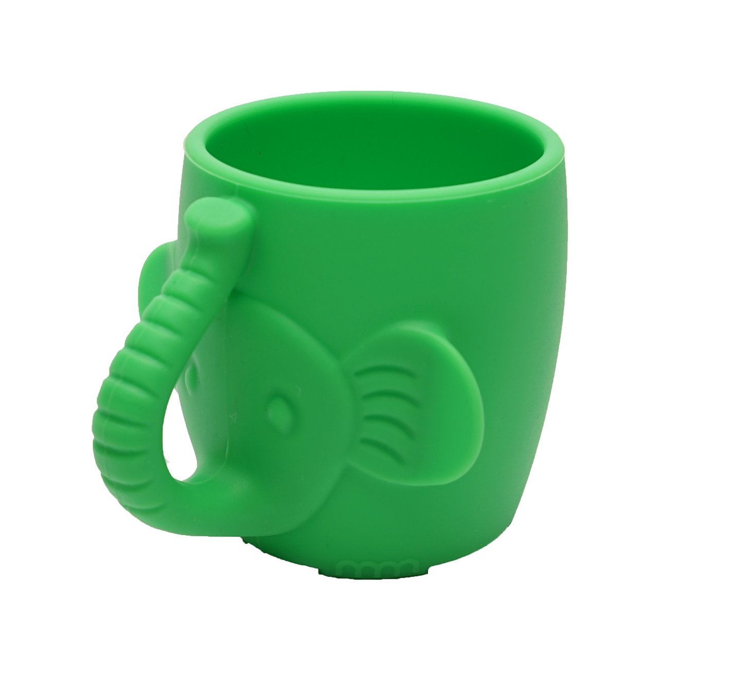 Baby Kid Sippy Cup Mug for Toddlers Learning Cup Elephant Design Great for Baby's Interaction Dexterity Silicone Bambini Bear 6 OZ Capacity