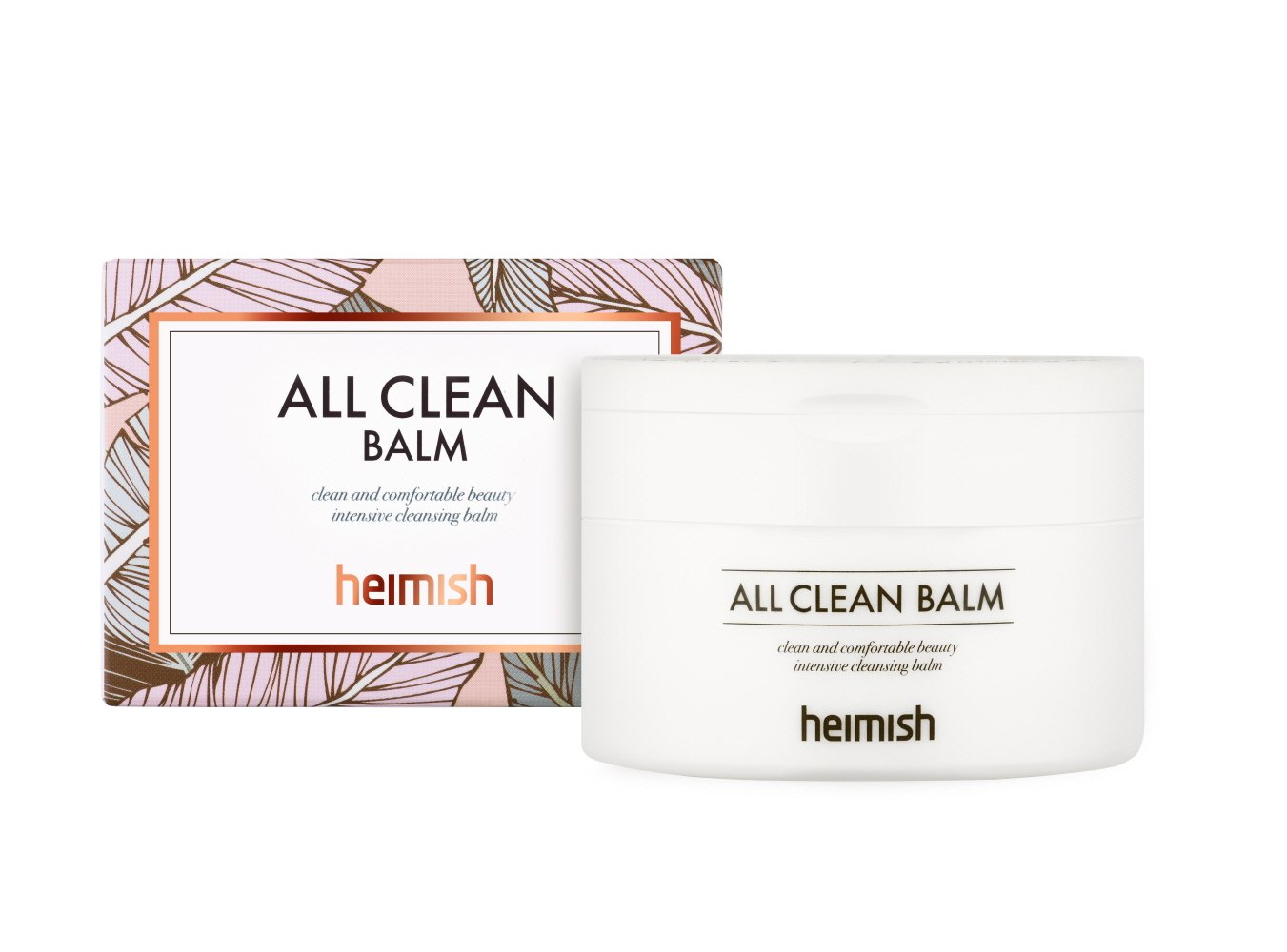 Heimish All Clean Hypoallergenic Balm Type Cleanser 10 ounces (3 Pack) BEAUTY TREATS Sugar Lip Scrub - Watermelon