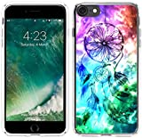 Iphone 6S Case Dreamcatcher,Iphone 6 Case Dream Catcher, Hungo Apple Iphone 6 6S Soft Tpu Silicone Protective Cover Dreamcatcher Galaxy Colorful