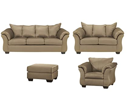 Amazing Amazon Com Signature Design By Ashley Darcy Living Room Set Dailytribune Chair Design For Home Dailytribuneorg
