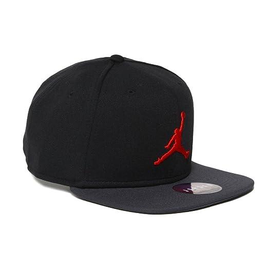 afee2db44b1 ... real nike mens jordan jumpman snapback hat 861452 016 black dark shadow  red da595 e6ae6