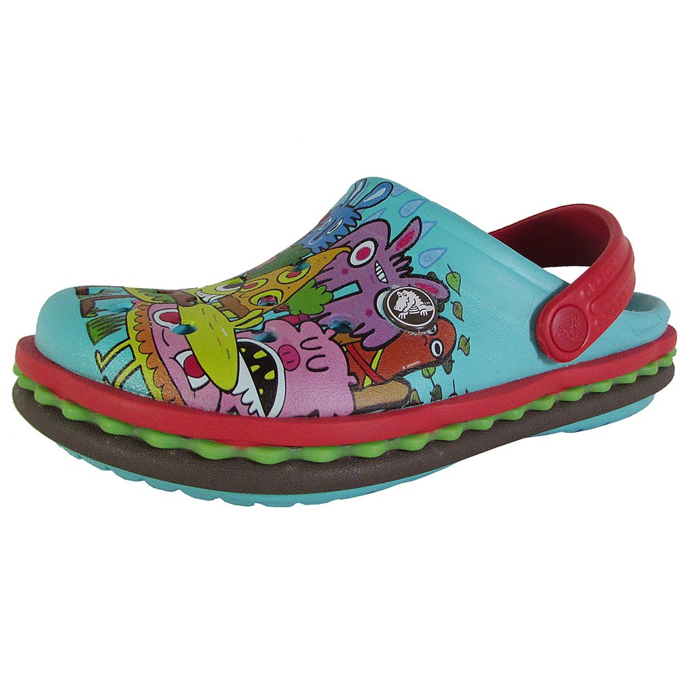 Crocs Kids' Burger K Clog Pool 3 M US Little Kid Crocs Kids Footwear 201389
